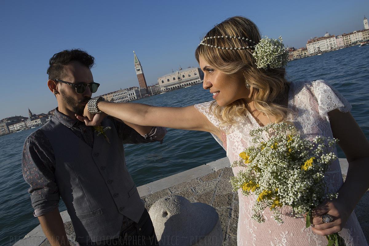 fotografo venezia servizio foto sposi