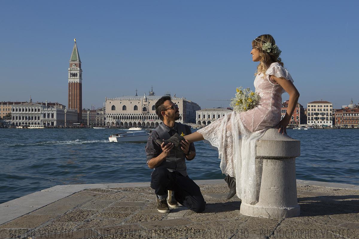 fotografo venezia servizio foto passeggiata