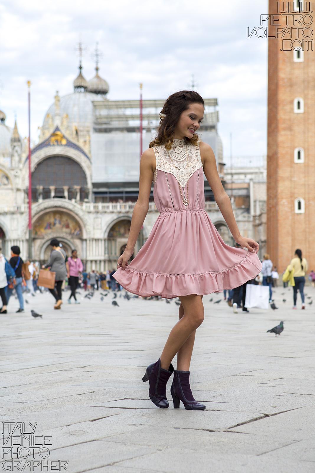 fotografo venezia servizio foto modella