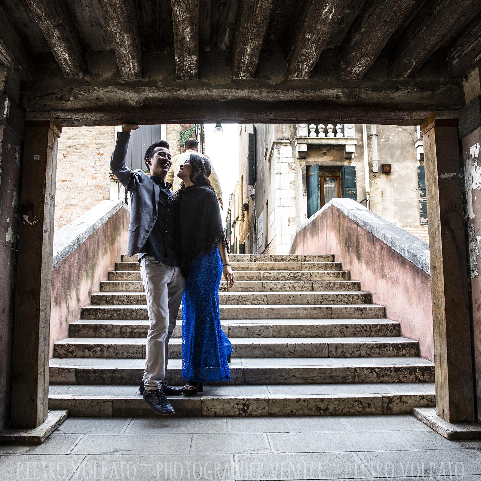 fotografo venezia servizio foto vacanza coppia innamorati
