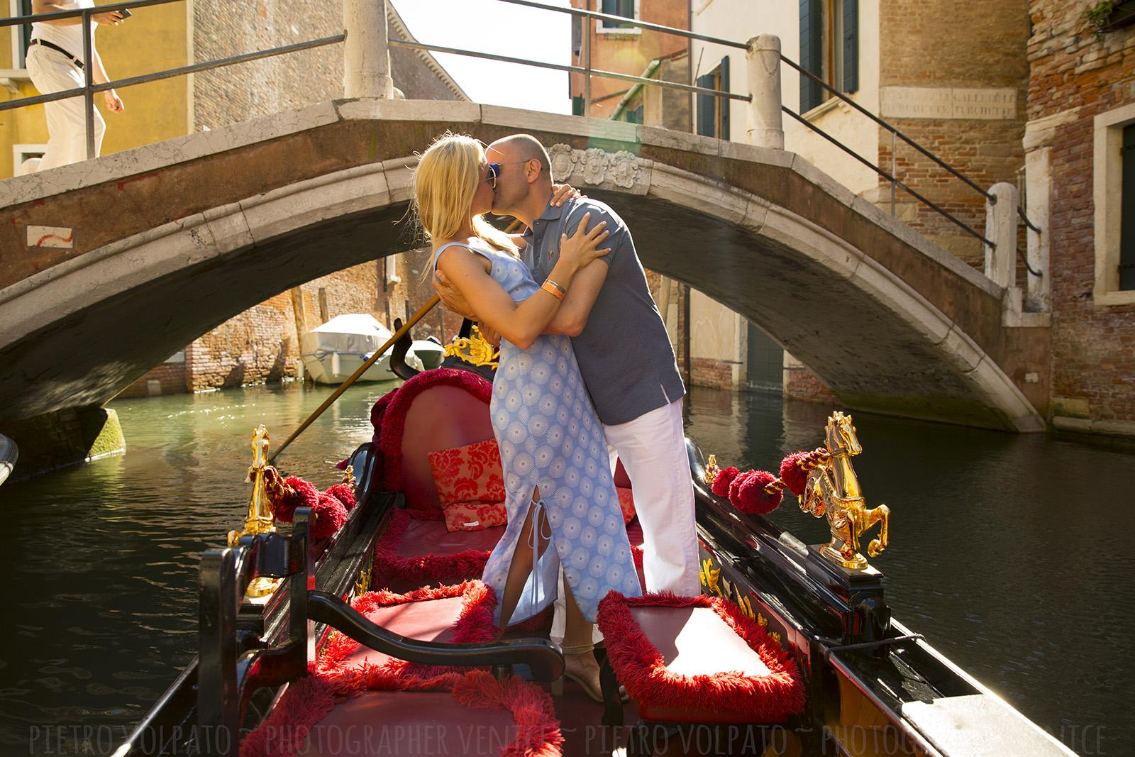 Fotografo a Venezia per servizio foto della luna di miele