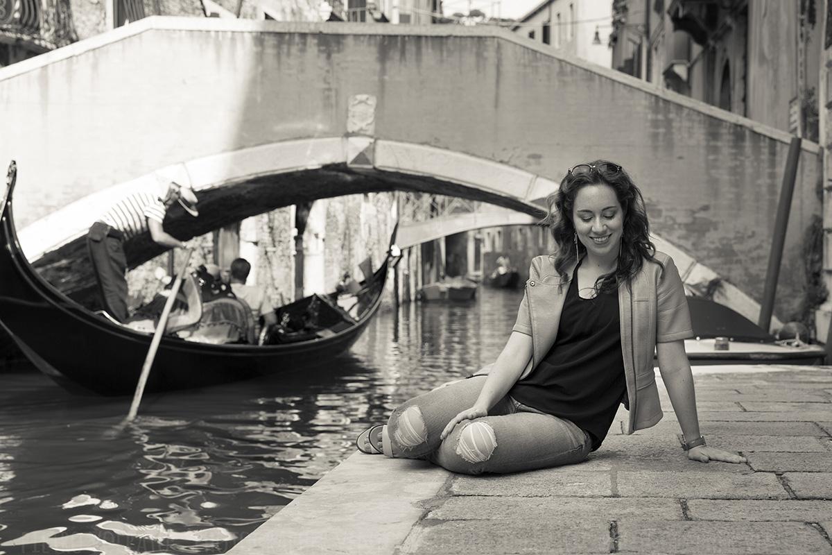 fotografo servizio foto modella a venezia