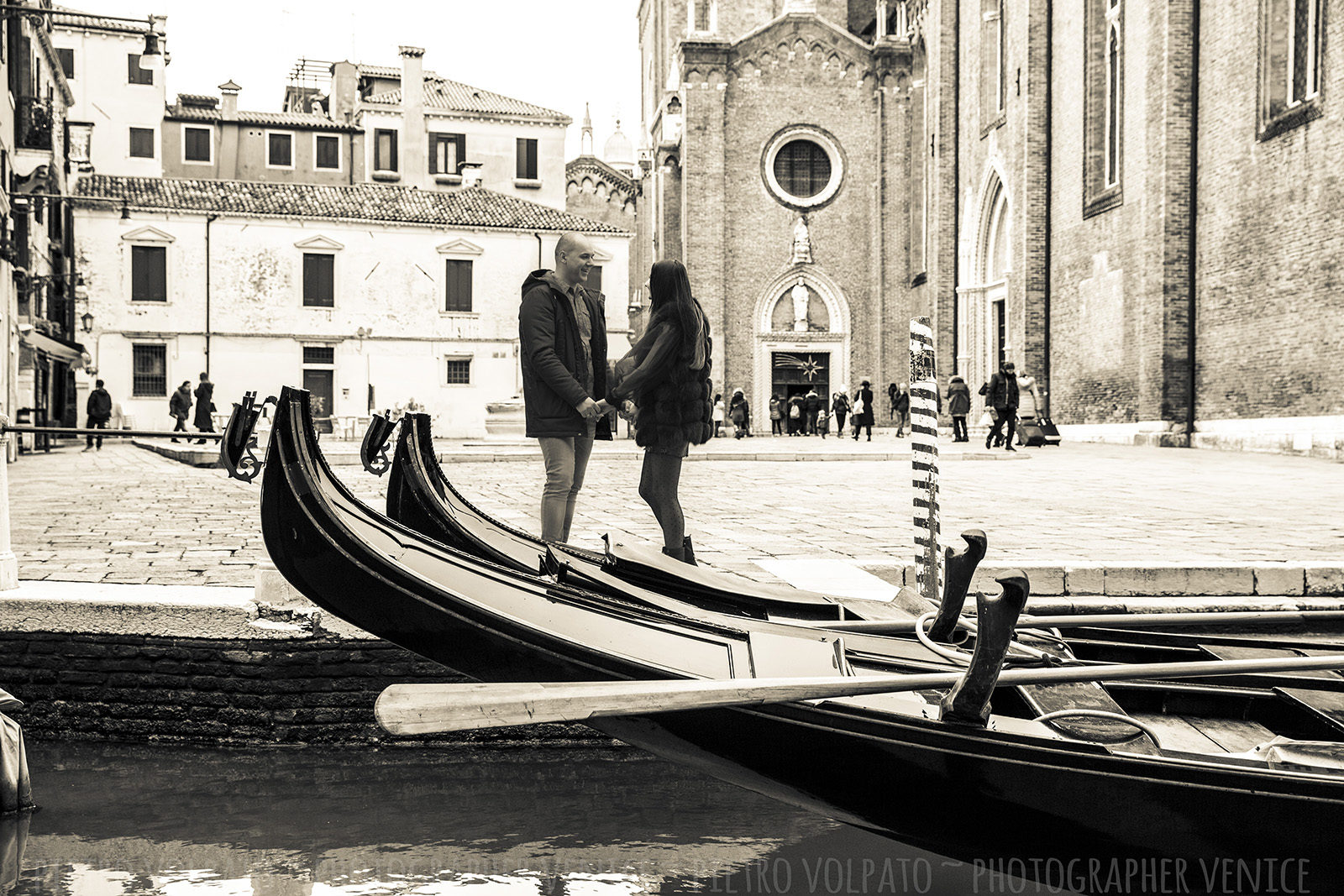 fotografo vacanza coppia venezia