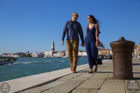 Fotografo Venezia Servizio Foto Passeggiata Innamorati