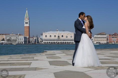 Fotografo Viaggio di Nozze Sposi Venezia