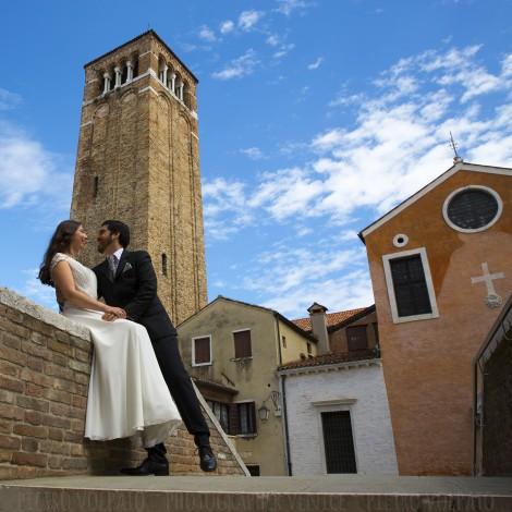 Venezia Fotografo Sposi Viaggio Nozze
