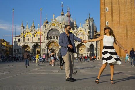 Fotografo Venezia Servizio Coppia in Vacanza