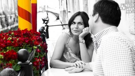 FOTOGRAFO PER FOTO VACANZA ROMANTICA COPPIA A VENEZIA
