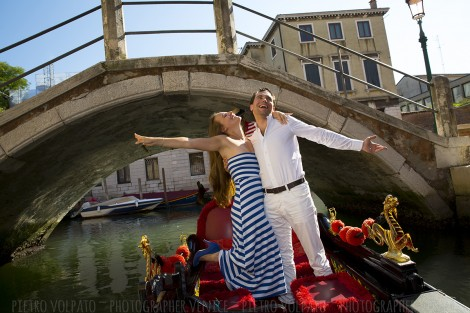 Fotografo Venezia Servizio Foto Innamorati