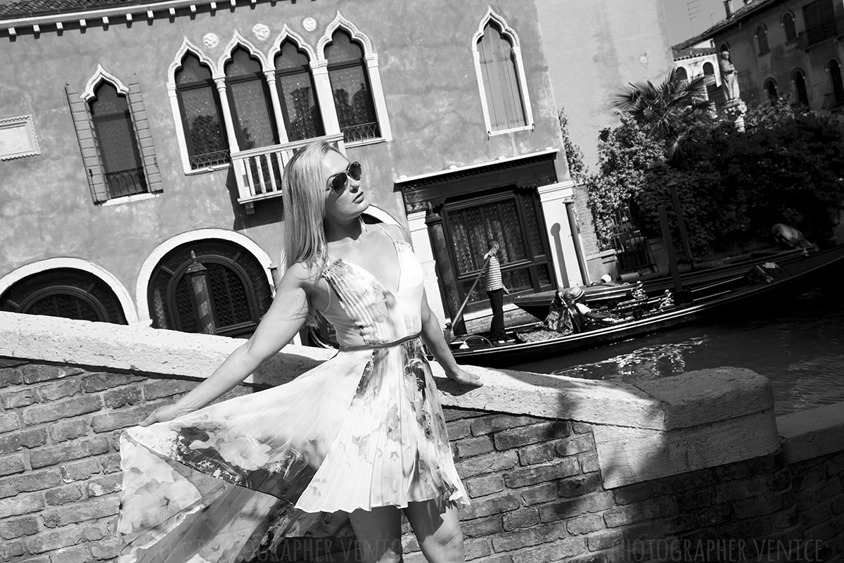 venice fashion photography session