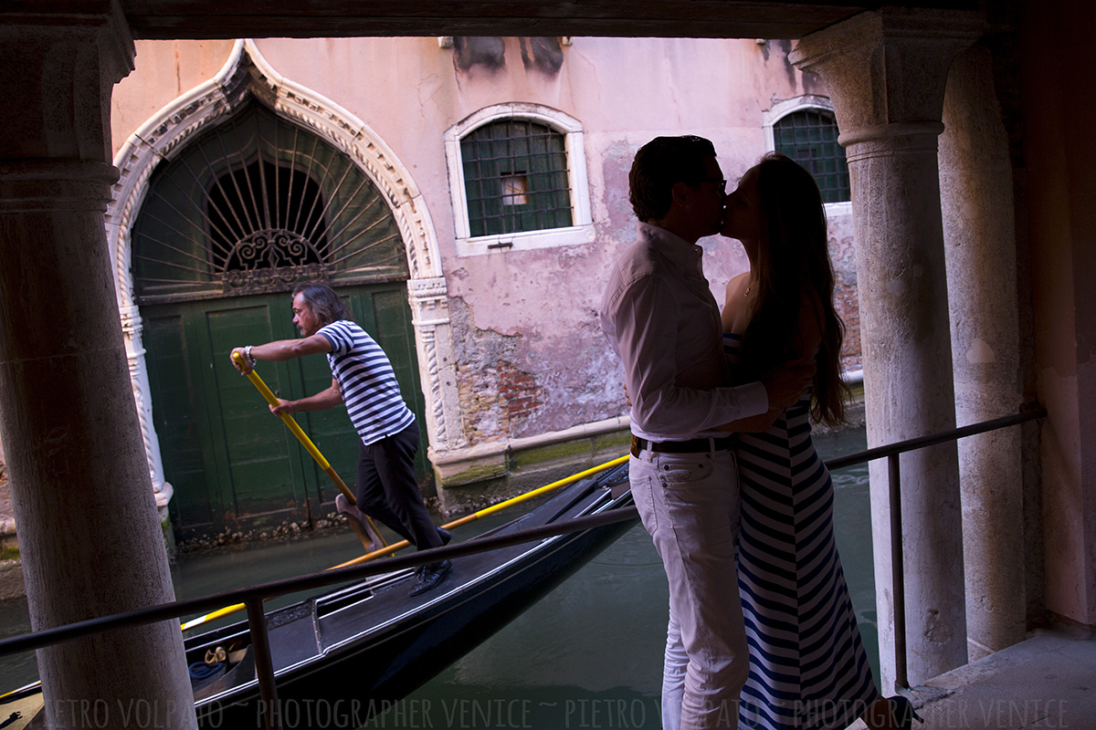 Photographer in Venice Italy