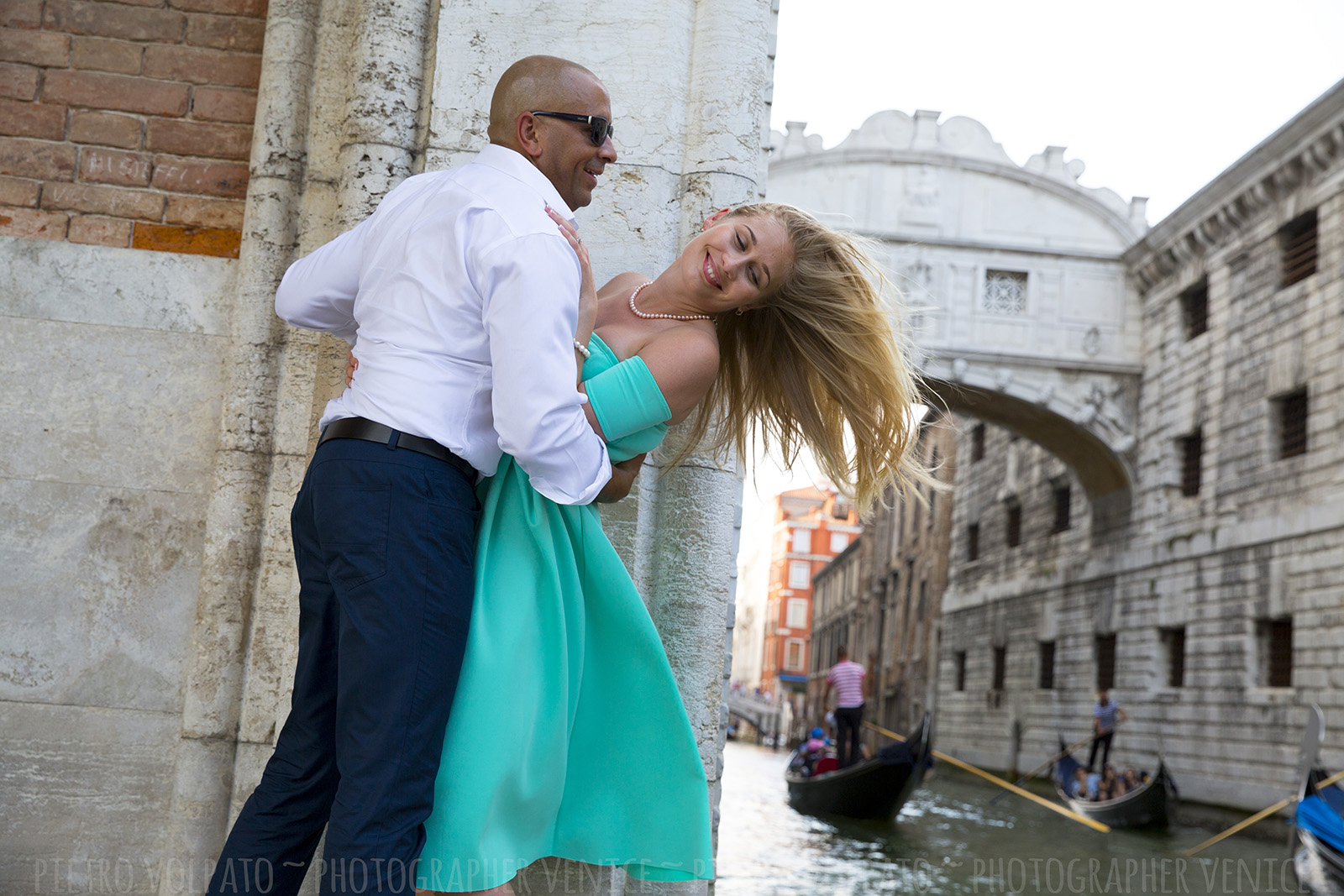 Photographer in Venice for vacation photo shoot