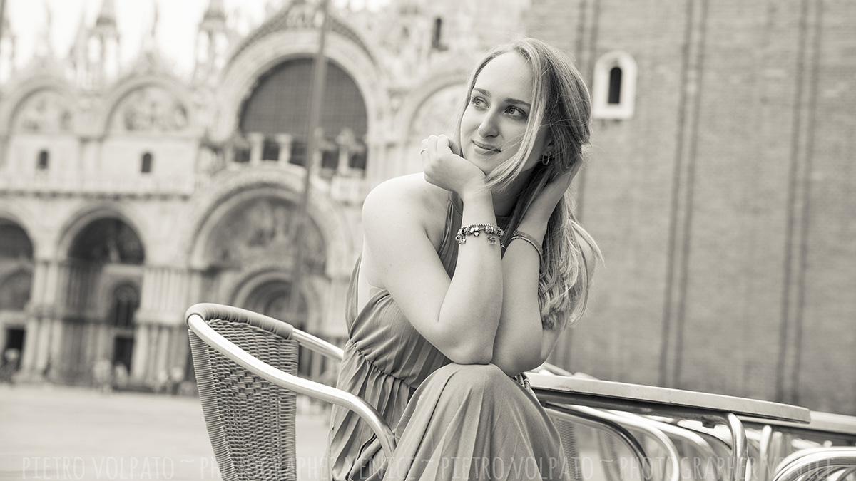 portrait photo shoot venice by photographer pietro