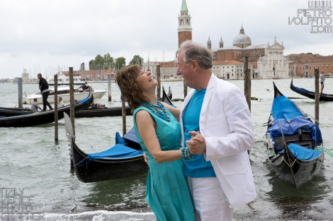 Venice Wedding Anniversary Vacation Photoshoot