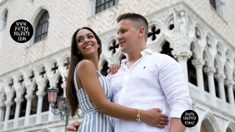 Engagement Photo Shoot in Venice with Photographer