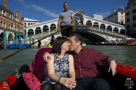 Venice Italy Photo Shoot for Wedding Anniversary
