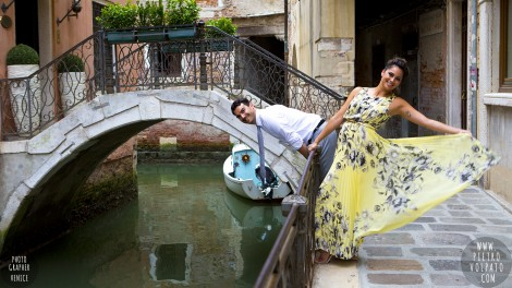 Photographer for Venice Italy Honeymoon Pictures