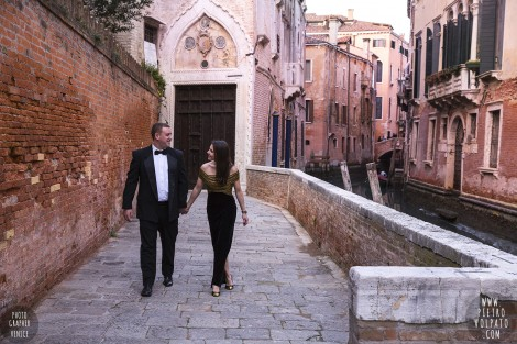 Pre Wedding Love-Story Photoshoot in Venice Italy
