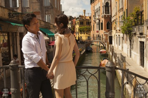 Venice Romantic Elopement Photo Shoot and Tour