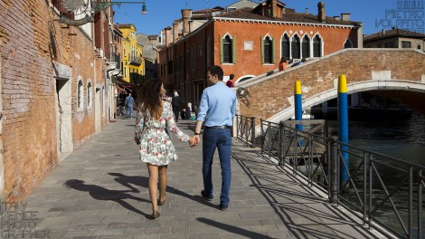 Venice Couple Photography Session and Tour