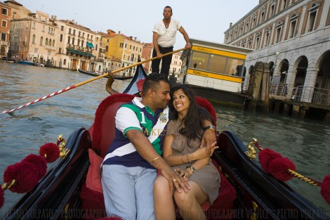 Venice Honeymoon Photo Shoot and a lot of Fun